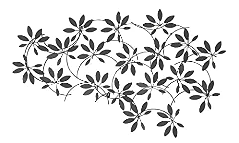 Woodland Imports Beautiful Metal Leaf Wall (Bronzo Rame Accenti)