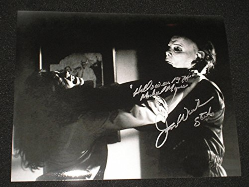 JIM WINBURN Signed Michael Myers 8x10 Photo Halloween Autograph B