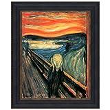 Design Toscano The Scream, 1893: Canvas Replica Painting: Grande