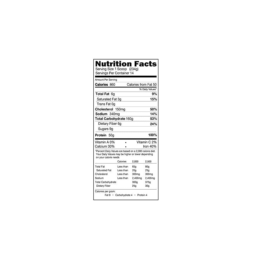 Evlution Nutrition Stacked Protein Gainer, Weight Gainer 7lb Protein Vanilla Ice Cream
