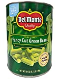 Del Monte Blue Lake Fancy Cut Green Beans Non-GMO/No Preservatives - 6.3 lbs Can (101 oz.)