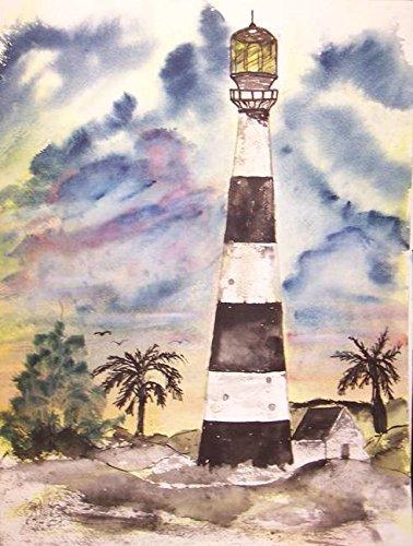 Imagekind Wall Art Print Entitled Cape Canaveral Lighthouse by Derek McCrea | 36 x 48 ()
