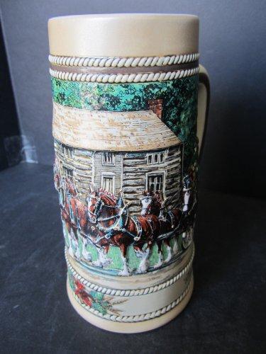 Cabin Series Stein - Budweiser Beer Stein - Grant's Cabin - National Historical Landmark Series