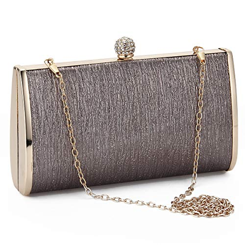 - Women Evening Clutch Bags Metal Frame Evening Bag Night Purse Handbag Wedding Prom Party Cocktail Bridal Clutches
