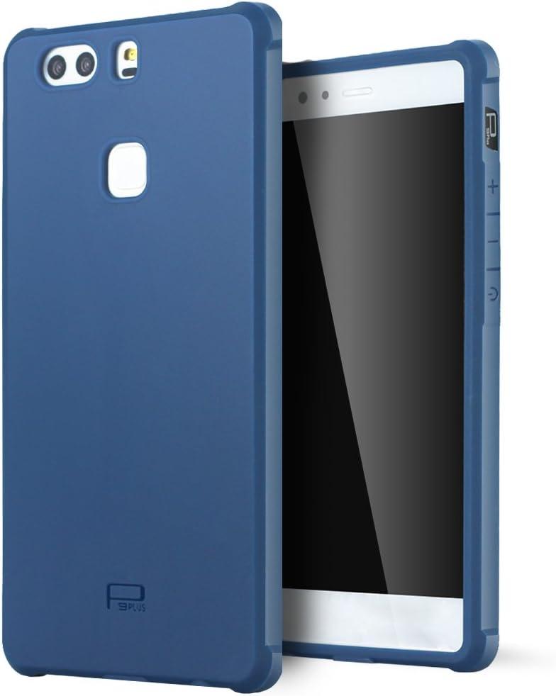 Lizimandu Huawei P9 Plus Funda, UltraSlim Protectora Funda Shock-Absorption Gel TPU Back Protector Carcasa Shockproof Funda Case tacsa Shell Huawei P9 Plus: Amazon.es: Electrónica