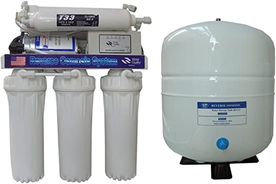 Purificador purificador ósmosis inversa sistema con Accumulo 5 ...