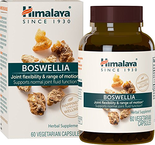 519ibR%2BCi7L - Himalaya Pure Herbs Boswellia, Joint Support, 60 Capsules