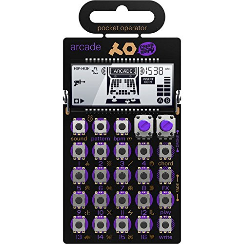 Teenage Engineering PO-20 Pocket Operator Arcade Synthesizer by Teenage Engineering