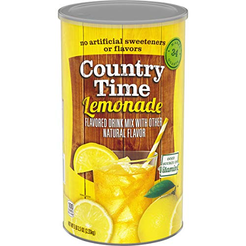 Country Time Lemonade Drink Mix (82.5 oz Canister)