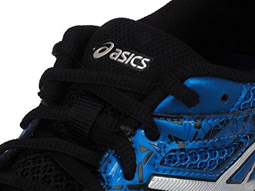 Asics Gel-excite 4 - zapatos de entrenamiento de carrera en asfalto Hombre Multicolore (Classic Blue/Silver/Black)