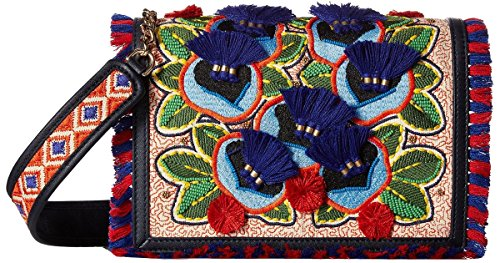 Bag Burch Floral Cross Handbag Body Tory Combo Embroidered F6qngxOqwY