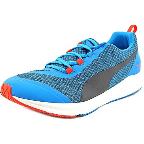PUMA Men's Ignite XT Core Running Shoe, Atomic Blue/Black/Red, 12 D US