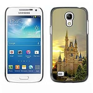 """For Samsung Galaxy S4 Mini (NOT for regular S4) , S-type Naturaleza Castillo Europea"""" - Arte & diseño plástico duro Fundas Cover Cubre Hard Case Cover"""