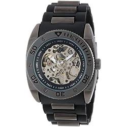 Rocawear Men's RM0111B1-010 Stylish Bracelet Enamel Bezel Watch