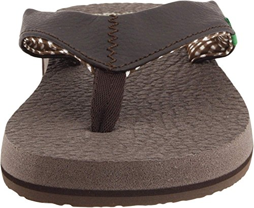 Sws2908 Casual Flip Sandals Yoga Sanuk Brown Flop Mat qwCBEYx