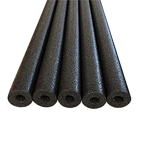 Commart Foam Pool Swim Noodles - 5 PACK 52 Inch Wholesale Pricing Bulk (Black) Ships from USA - Heritage Pools Round Pool Cover