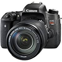 Canon EOS Rebel T6s Digital SLR with EF-S 18-135mm IS STM Lens - Wi-Fi Enabled (Certified Refurbished)
