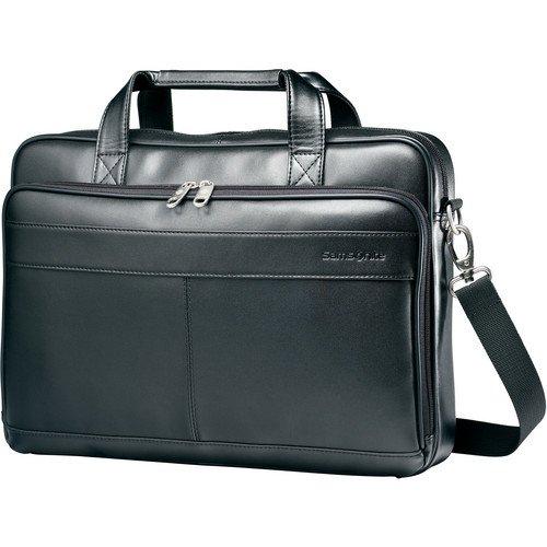 Briefcase Ladies Removable Wheeled (Samsonite Leather Slim Brief Case, 2-1/2