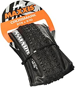 Maxxis Crossmark Cubierta MTB, Unisex adulto, Negro, 26 x 2.10