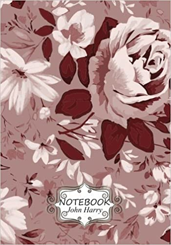 Notebook Journal Dot-Grid, Graph, Lined, Blank No Lined : flower