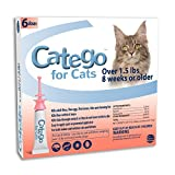 Catego Flea and Tick Control for Cats (6 Pack) - 1.5 lb One Size