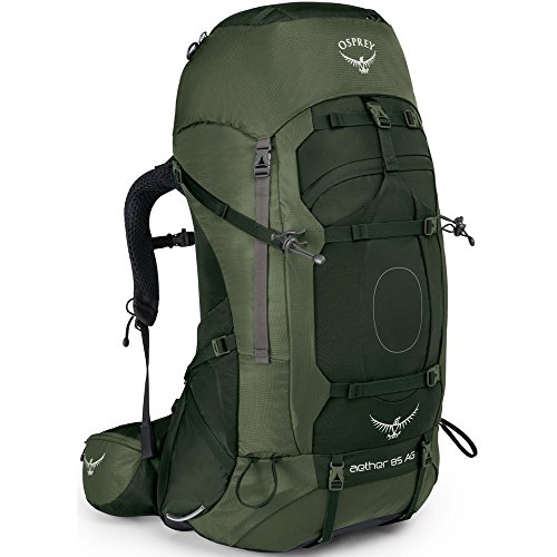 Osprey Packs Aether Ag 85 Backpack, Adriondack Green, Lg, Adirondack Green, Large