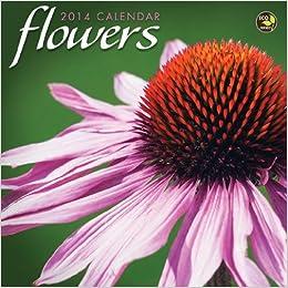 2014 Flowers Mini Calendar