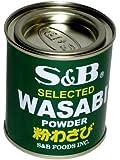 S&B - Wasabi Powder für Meerrettich Wasabi Paste - 30g