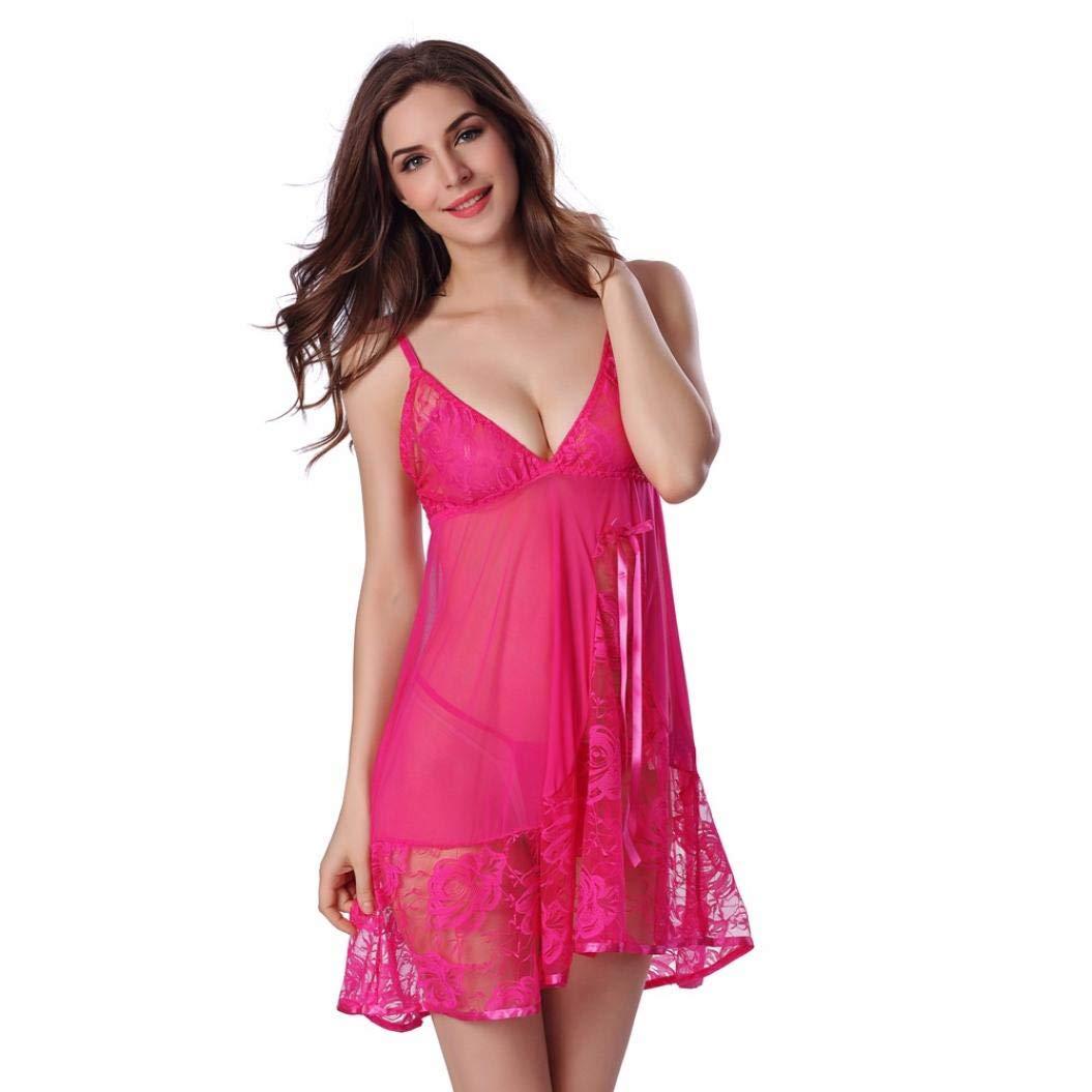 d08a022167d10 ... sous-vêtements Sexy-URIBAKY Femme Nuit Ensemble Transparente Lingeried  Agrandir l'image