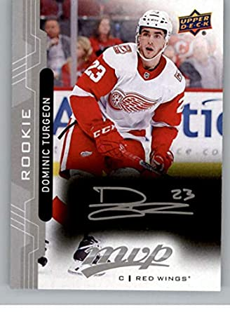 cc75087fb47 2018-19 UD MVP Silver Script  223 Dominic Turgeon Detroit Red Wings Upper  Deck