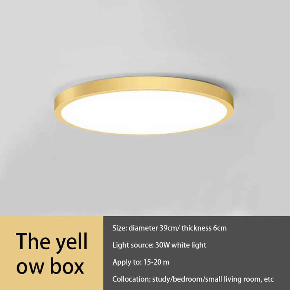15 pollici 30W 2400 lumen 6000K bianco luce diurna per soggiorno OurLeeme Plafoniera a LED ultrasottile camera da letto Verde camera per bambini