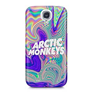 Arctic Monkeys Trippy Holographic Logo Hard Plastic Snap-On Case For Samsung Galaxy S4 by mcsharks