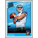 8d978d256db 2018 Optic Football #185 Mike White RC Dallas Cowboys Rated Rookie Official.