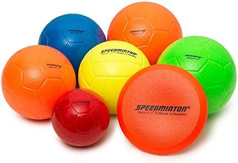 Speedminton - Balón de Espuma, Rojo, 15 cm: Amazon.es: Deportes y ...