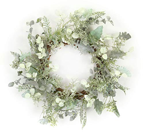 (Melrose International Mixed Herb Wreath 23