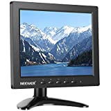 Neewer NW801H 8 inches Monitor with 4:3 TFT-LCD Screen 1024x768 Resolution,500:1 Contrast,HDMI VGA BNC AV Input Audio,Built-in Speaker for DSLR, PC, CCTV Camera, DVD and Car Backup Camera
