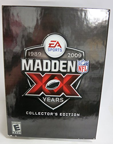 PS3 PLAYSTATION 3 MADDEN NFL 09 20th ANNIVERSARY COLLECTOR'S EDITION