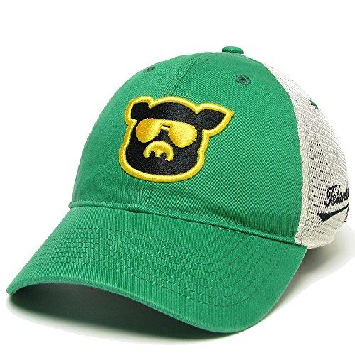 Islanders Pig Face Trucker Hat, Kelly Green/Yellow/Black, One Size