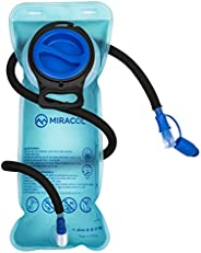 Miracol 2L Hydration Bladder Water Reservoir, BPA Free, FDA Approved and Taste Free for Outdoor Cycling Hiking