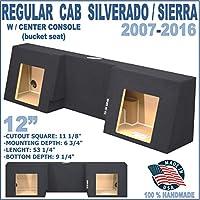 1999-2015 Chevy Silverado / GMC Sierra Regualr Cab 12 speaker box