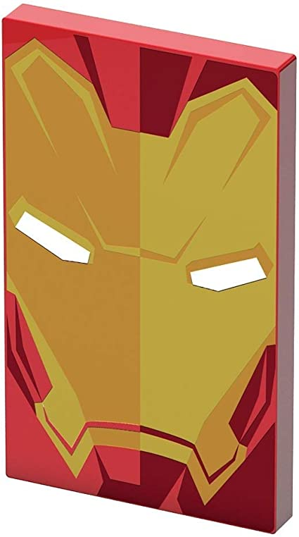 chargeur iphone iron man