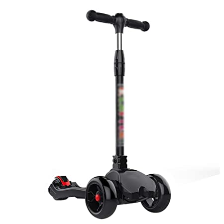 CQILONG-scooters Tilt-to-Turn Volante Plegable Scooter Nylon ...