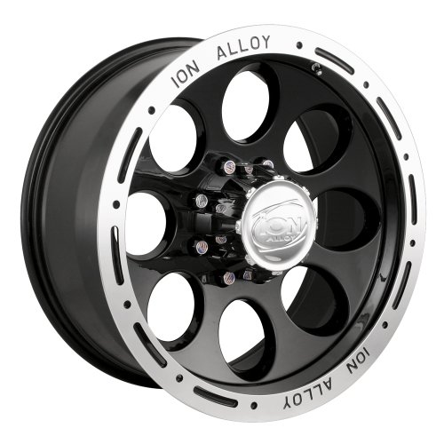 Ion Alloy 174 Black Beadlock Wheel (16x8
