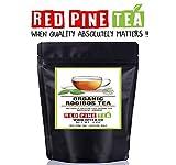 Organic Rooibos Tea Red Bush Tea, Aspalathus linearis, Decaffeinated Caffeine Free - Premium Loose Leaf Tea (4oz)