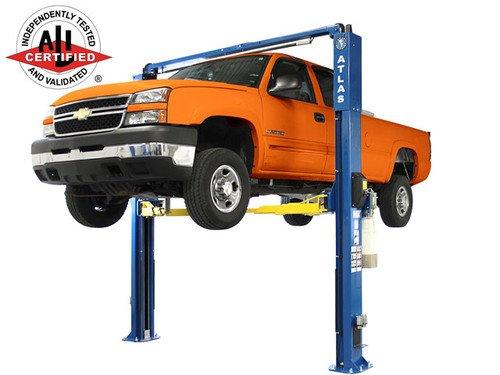 Atlas Apex 10 ALI Certified Overhead 10, 000 lbs. Capacity Adjustable Height 2 Post Lift Atlas Equipment ATTD-APEX10