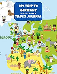 This cute and fun Germany themed notebook is ideal for kids to record their experiences and memories of their trip to Germany. With plenty of writing and drawing space, this journal makes a perfect gift as a keepsake journal for kids. Compact...