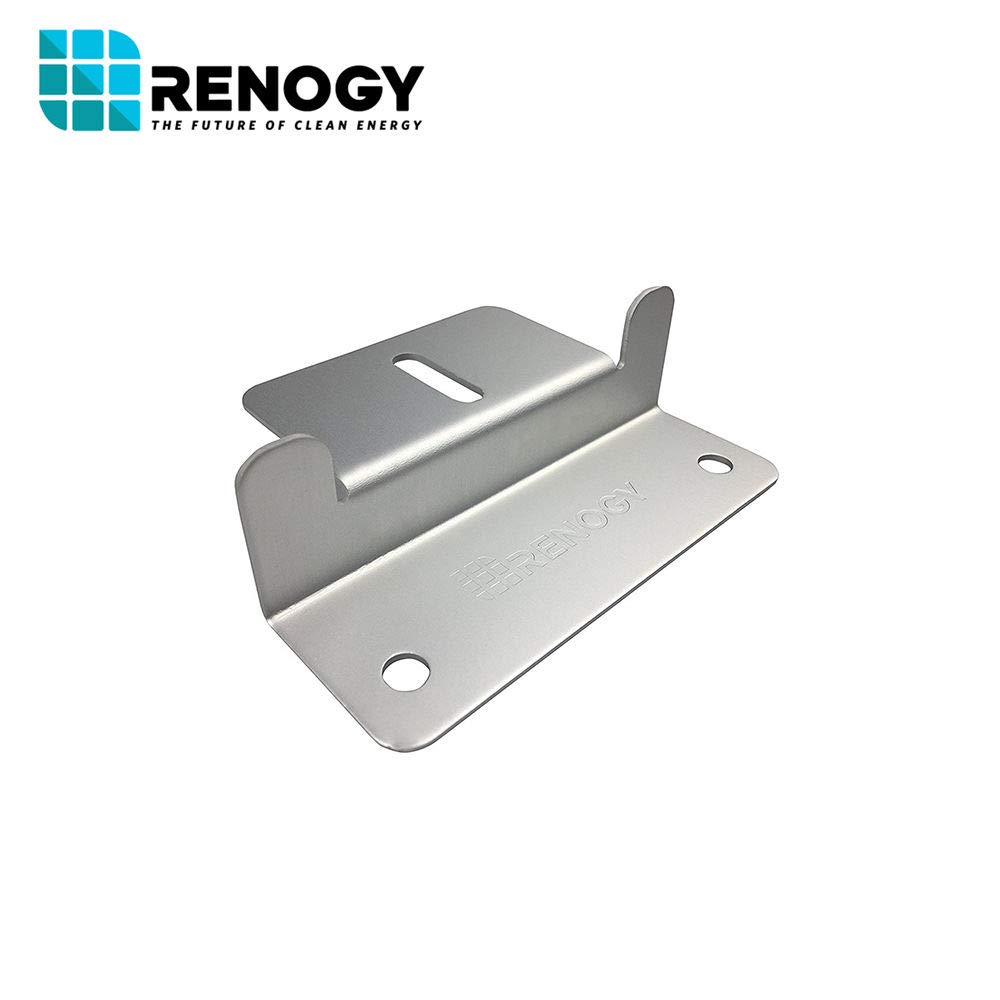 Renogy 4 Sets of Solar Panel Mounting Z Brackets for RV, Boat, Wall and Other Off Gird Roof Installation, 4 Pack by Renogy (Image #6)