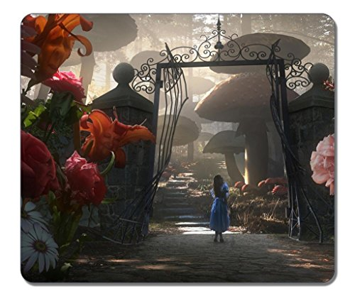 Mouse pads,(Black)12 X 10 X 0.12in.Non-Slip Rubber Mouse Pad[Natural rubber,Durable heat-resistant Precision Fabric]Rectangular Gaming Mouse Pad-Dj 2 Alice In Wonderland (Mousepad Alice In Wonderland)