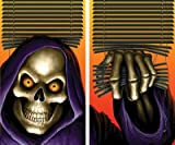 WOWindow Posters Grim Reaper Halloween Window Decoration Two 34.5''x60'' backlit posters