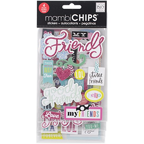 Me & My Big Ideas Chipboard Value Pack-Good - Scrapbooking Friends Best